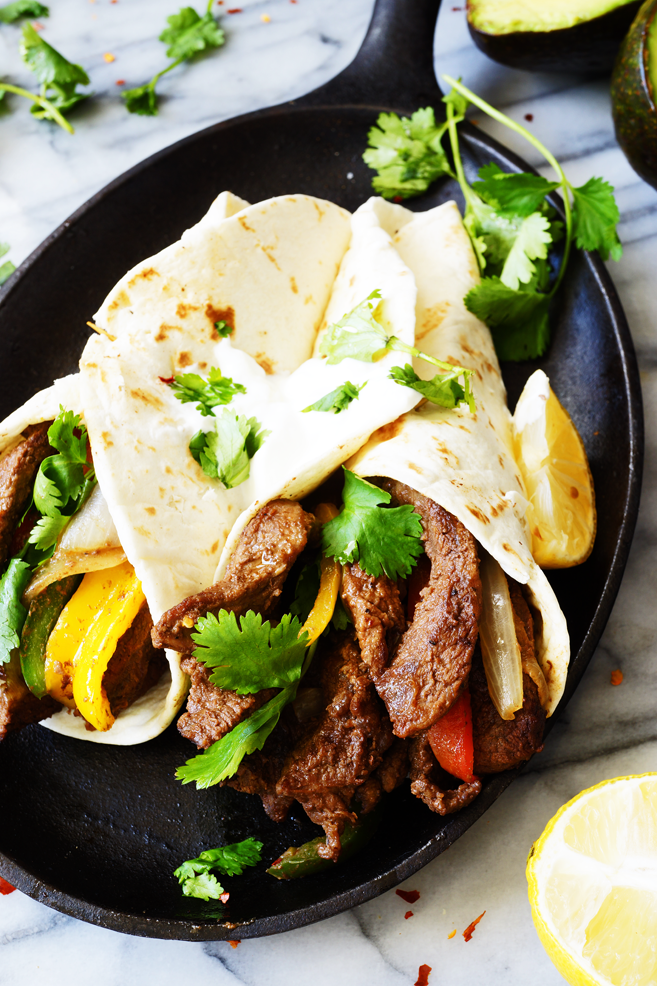 Easy and Quick 30 Minute Beef Fajita