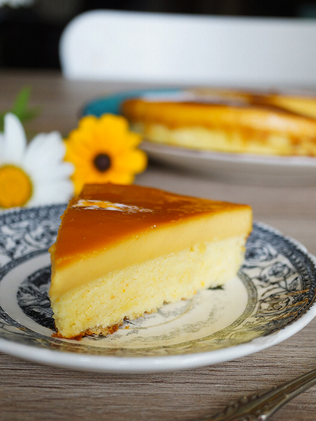 Filipino Custard Cake